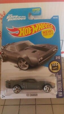 Hot Wheels 2017 Dodge Ice Charger The Fate of the Furious 266/365