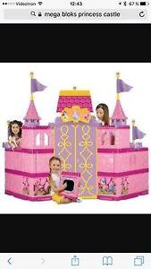 Mega block immense château de princesse  très rare