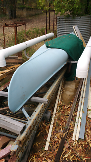 Canoe with Outriggers