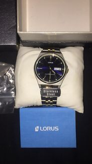 Lorus stainless steel watch