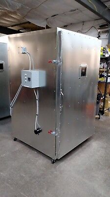 Batch Powder Coat Coating Electric Curing Oven  New  Delux Model