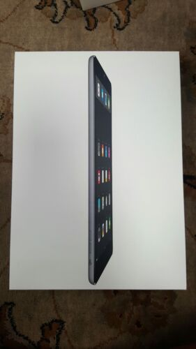 APPLE IPAD AIR BOX ONLY 16GB MD785LL/B SPACE GREY WITH MANUA