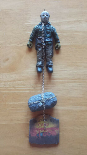 Homemade Horror Friday the 13th Part VI Jason Lives Holiday Ornament