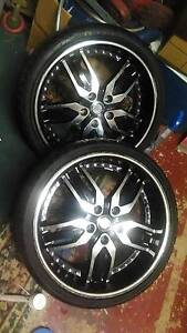 """18""""inch MAG wheels, 4x tyres and rims Erskine Park Penrith Area Preview"""