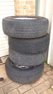 Toyota Prado mag wheels Glenwood Blacktown Area Preview