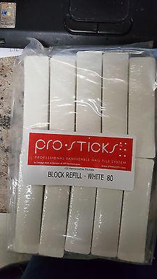 - Design Nail PRO STICKS Sanitizable Nail File System 100 Removable Stickers 80 GR