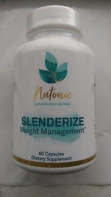 Nutronic Slenderize Weight Management Food Supplement 60Capsules Sale!!!
