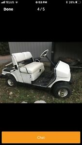 Yamaha 48 V golf cart