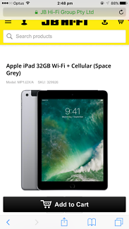 iPad 5th gen (32GB) brand new