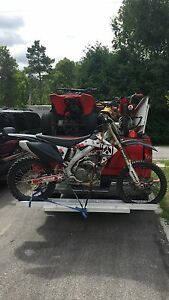 2005 Honda crf450 Kawartha Lakes Peterborough Area image 3