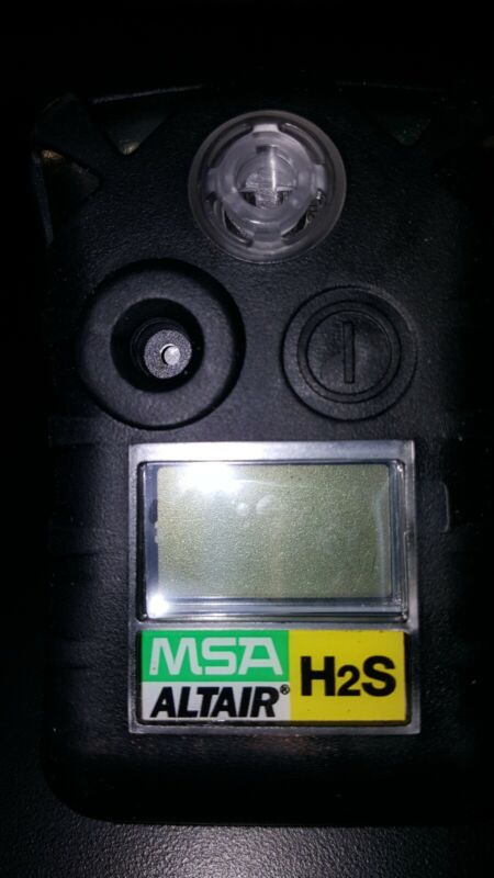 New 24 Month MSA Altair Hydrogen Sulfide Gas Monitor (H2S)