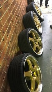 "20"" staggered mc's suit ford Campbelltown Campbelltown Area Preview"