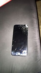 16gb iPhone 6 with cracked screen Hallett Goyder Area Preview