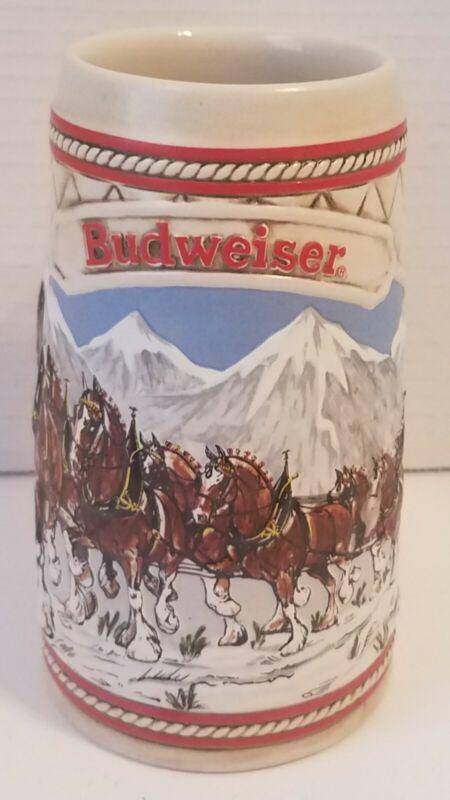 "1985 ""A"" Series Limited Edition Budweiser Stein"