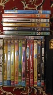Assorted DVDs (Family Guy, Metalocalypse, 30 Rock, Scrubs)