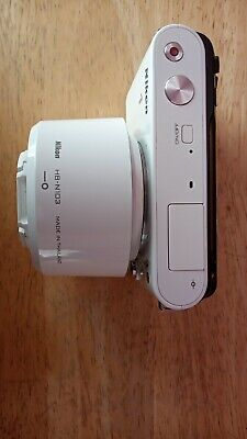 Nikon J1 Camera With 10-30mm Lens and 30-110mm Lens, Batteries, Charger, Case