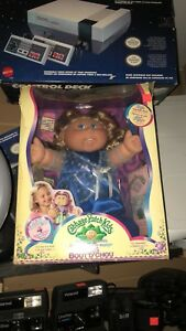Color touch silk cabbage patch doll