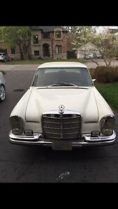 1970 Mercedes-benz 280S W108 200 series