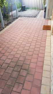 Free Brick Paving (approx 36m2)