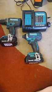 Makita 18v drill driver set Ipswich Ipswich City Preview
