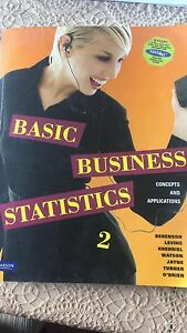 Basic Business Statistics 2 - Berenson, Levine, Krehbiel, Watson Bundoora Banyule Area Preview