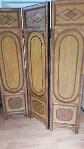 BALINESE STYLE HAND CRAFTED ROOM DIVIDER Parkdale Kingston Area Preview