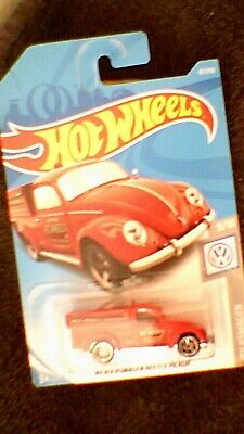 Hot Wheels - US Card - #47 '49 Volkswagen Beetle Pick-Up - Red