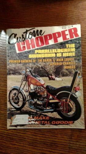 CUSTOM CHOPPER APRIL 1976