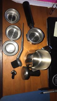 Sunbeam coffee machine hardly used