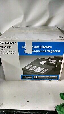 Sharp Xea207 Menu Based Control System Cash Register - New