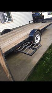 Completely rebuilt trailer