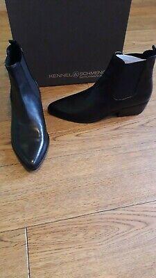 Kennel and Schmenger Fibi boots.RRP £280.7 UK.Black Chelsea dealer.Butter soft