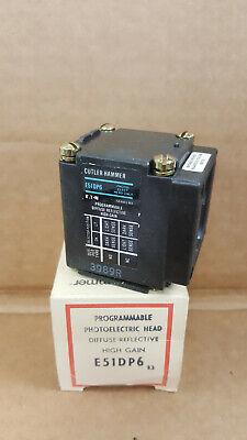 Eaton Cutler Hammer E51dp6 Photoelectric Sensor Head New In Box