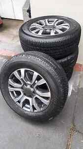 MY17 Ford Ranger Wildtrak wheels with tyres Winston Hills Parramatta Area Preview