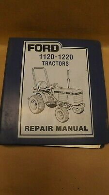 Oem Ford New Holland 1120-1220 Tractor Repair Manual