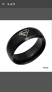 Brand new never worn superman ring Coomera Gold Coast North Preview