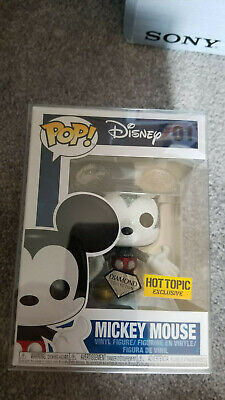 Diamond Mickey Mouse - Funko Pop Mickey Mouse Diamond Edition HT Exclusive