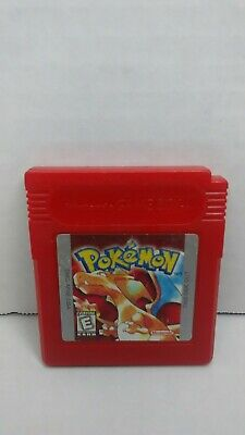 Pokemon Red Version Nintendo GameBoy dmg authentic saves
