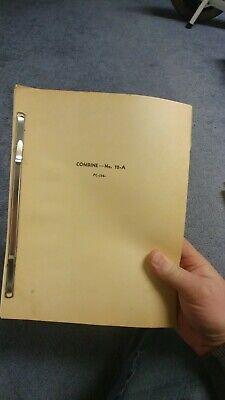 John Deere 12-a 45 Combine Parts Catalog Manual Book Jd Choice