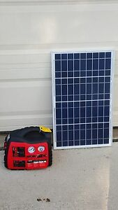plug n play portable solar power kit solar generator with. Black Bedroom Furniture Sets. Home Design Ideas
