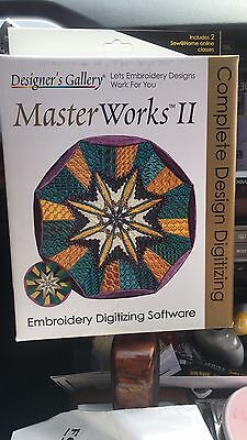 Designers Gallery Masterworks II Embroidery software