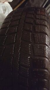 4 winter tires Kebek 165/65R 15 with RIM 5x114 almost new