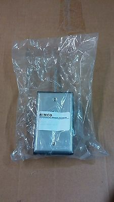 Minco As120115 Rtd Transmitter 4-20ma Temperature Sensor W Stainless Enclosure