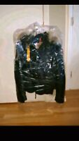 $2400 Manteau Cuir Parajumpers Leather Jacket Men's Small