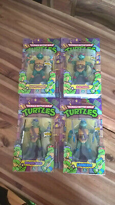TMNT Classic Collection alle 4 Turtles Figuren MOC OVP MIB Playmates Classic Collection Tmnt