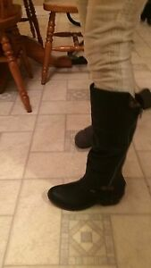 Rieker leather boots