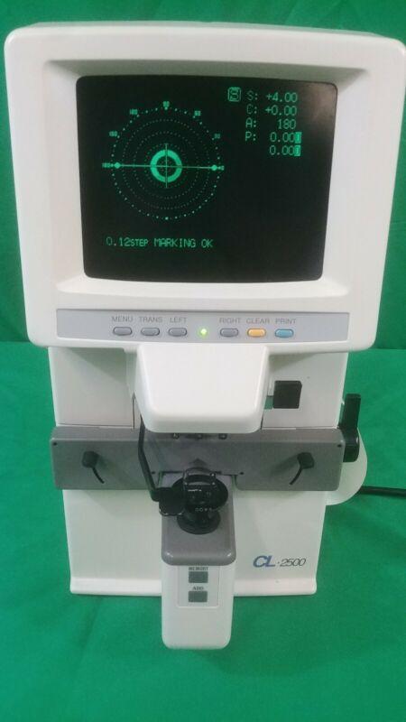 Topcon CL-2500 Computerizd Lensmeter