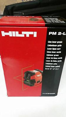 New Hilti Laser Level Pm 2-lg -green Light