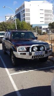 2004 Nissan Patrol Wagon White Gum Valley Fremantle Area Preview