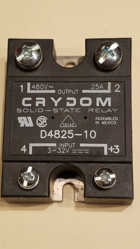 Crydom solid state relay D4825-10